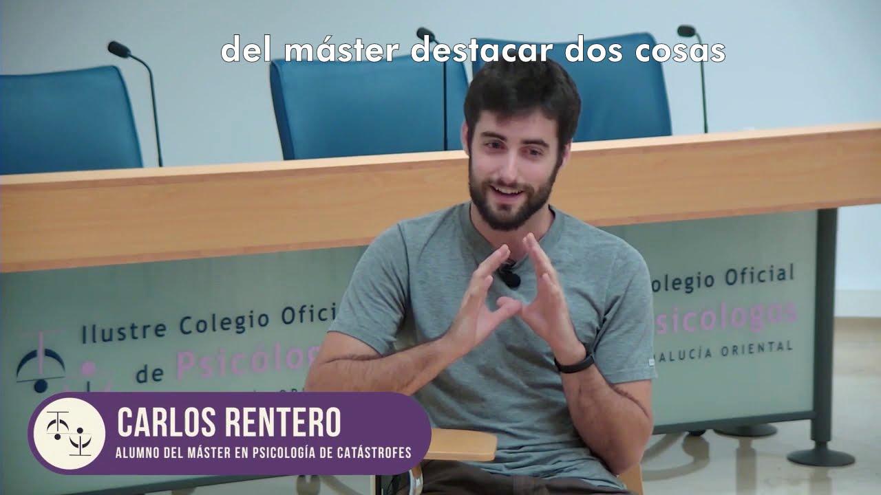 Máster universitario en psicología de catástrofes, crisis y emergencias