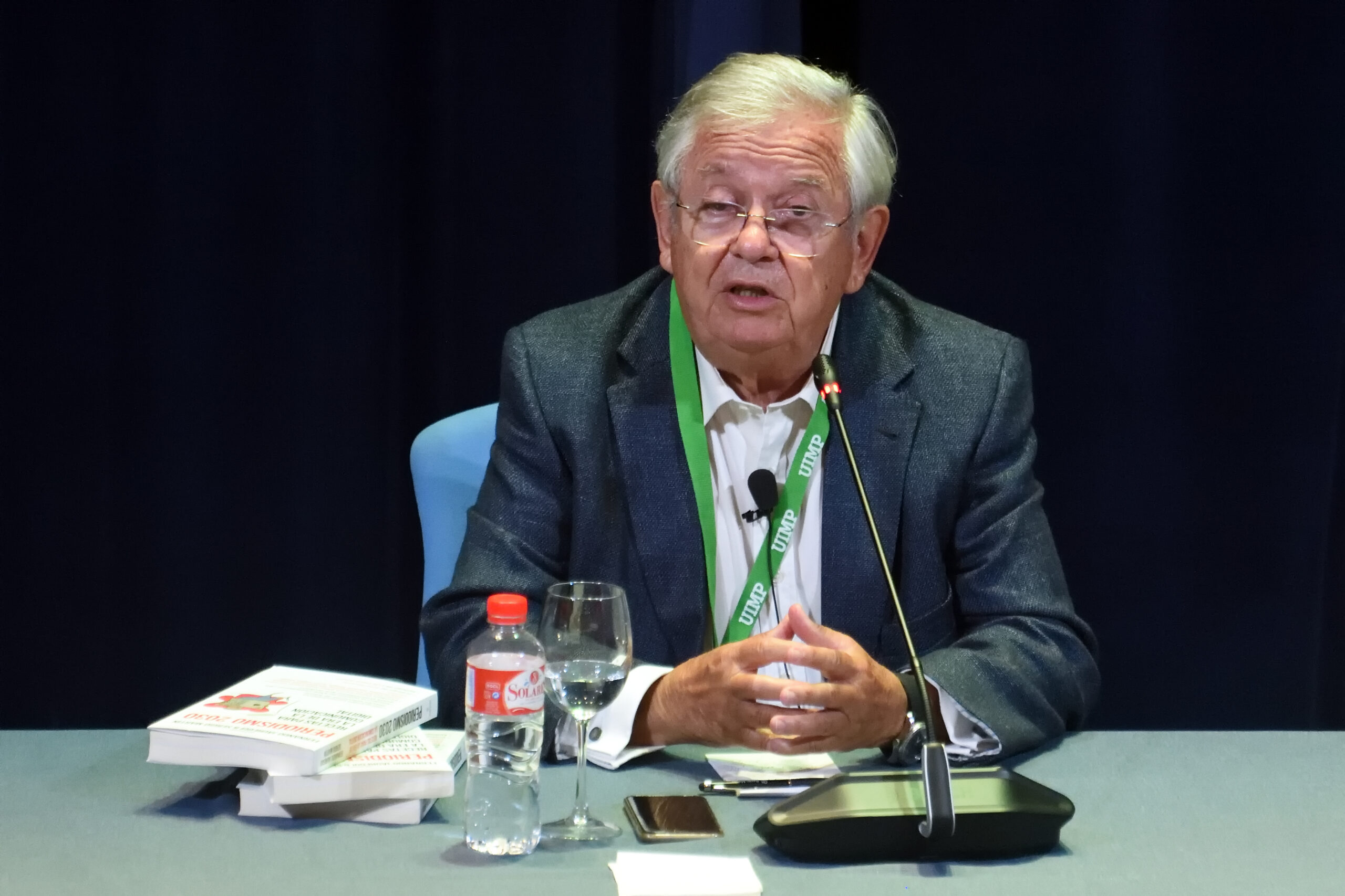 """Fernando Jáuregui: """"Algunos poderes han aprovechado la pandemia para restringir la libertad de expresión"""""""