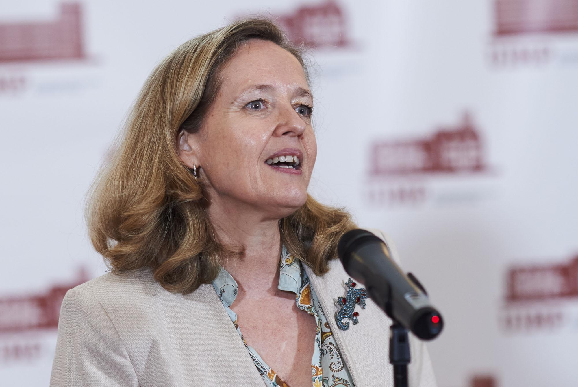 """Nadia Calviño: """"España será el motor del crecimiento de Europa"""""""