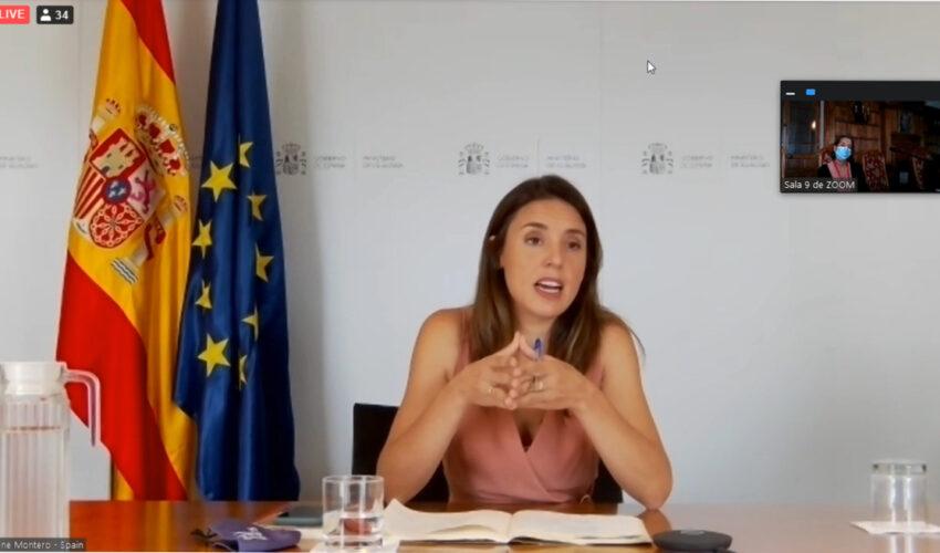 """Irene Montero lamenta que las violaciones de derechos de las mujeres """"en países como Yemen o Arabia Saudí"""" no se denuncian """"con la misma intensidad que las de Afganistán"""""""
